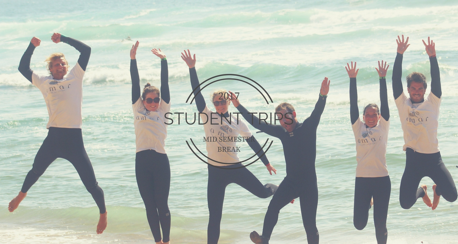 Amar Surf STUDENT TRIPS